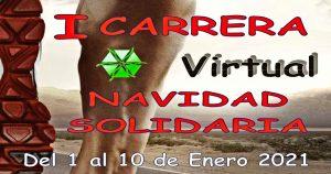 I CARRERA VIRTUAL NAVIDAD SOLIDARIA