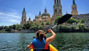 Descenso Piragüista por el Rio Ebro Pastriz - Alfajarín